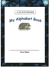 Jan Brett's Alphabet Book Cover 4