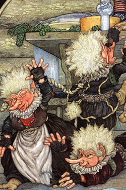 Christmas Trolls Jan Brett