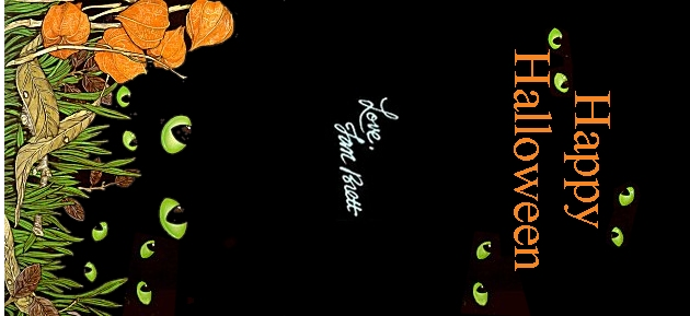 happy halloween printed 1 - Halloween Book Marks