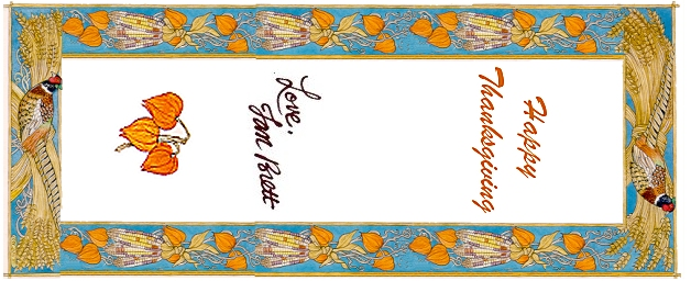 Thanksgiving Bookmarks 1
