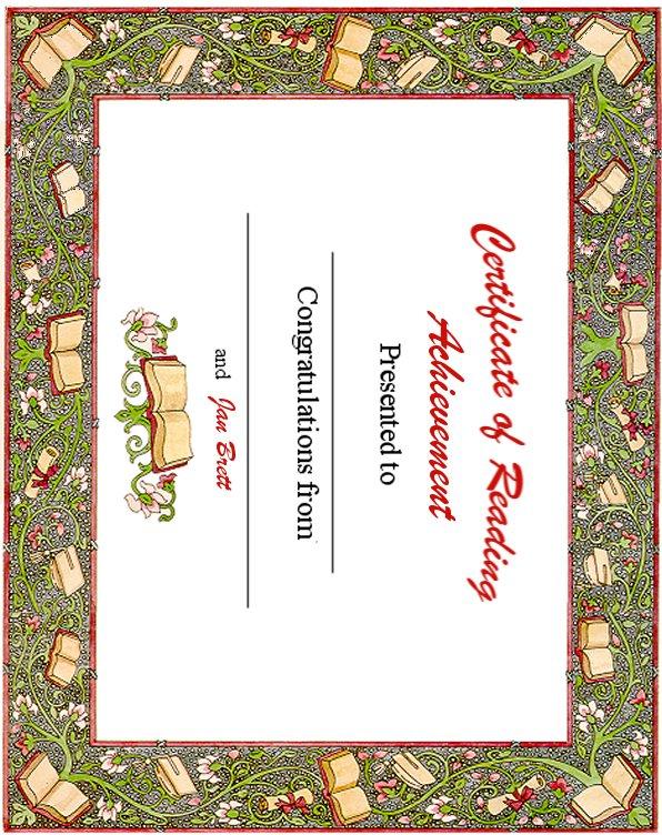 Certificateofreadingg yelopaper Gallery