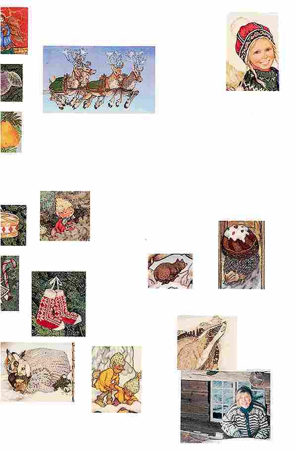 Chistmas Treasury Background Right