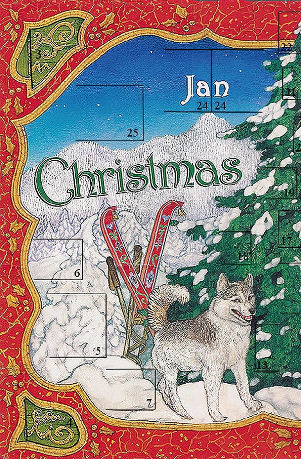Christmas Treasury Advent Calendar Front Left