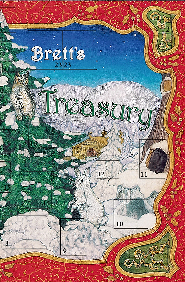 Christmas Treasury Advent Calendar Front Right