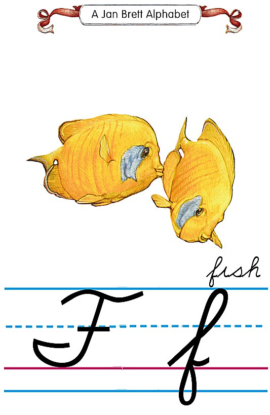 Worksheets F In Cursive cursive alphabet f fish