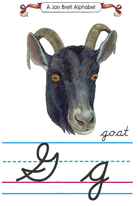 how to write a cursive g