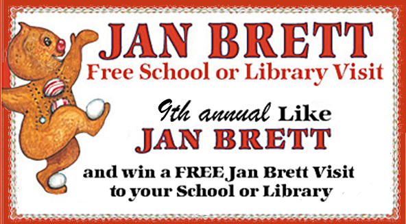 9th Annual Jan Brett School or Library Visit Contest