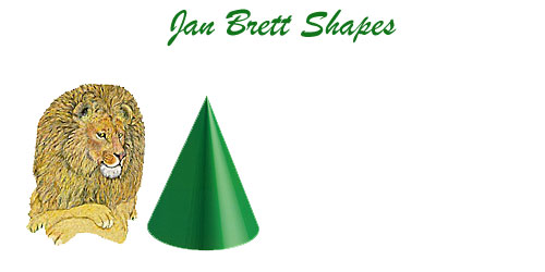 Jan Brett 3 Dimensional Geometric Shapes Cone