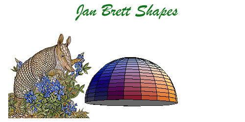 Jan Brett 3 Dimensional Geometric Shapes Hemisphere