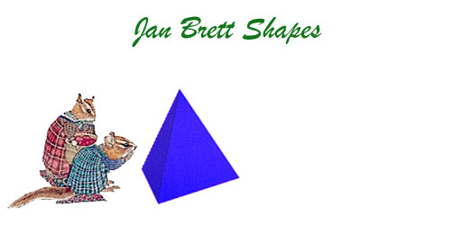 Jan Brett 3 Dimensional Geometric Shapes Pyramid