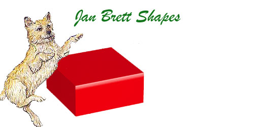 Jan Brett 3 Dimensional Geometric Shapes Rectangular Prism