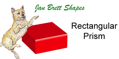 Jan Brett 3 Dimensional Geometric Shapes Rectangular Prism Answer