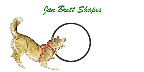 Jan Brett Geometric Shapes Flash Cards Circle