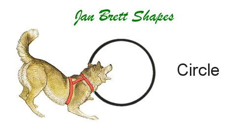 Jan Brett Geometric Shapes Flash Cards Circle Answer