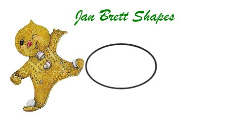 Jan Brett Geometric Shapes Flash Cards Ellipse