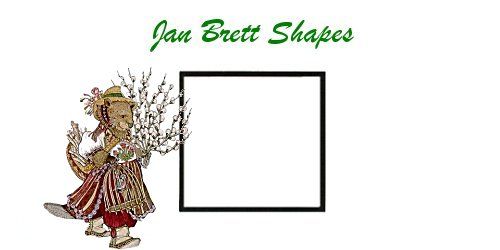 Jan Brett Geometric Shapes Flash Cards Square