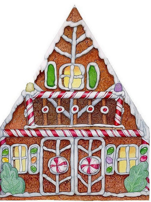 Gingerbread Baby House End