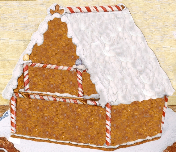 Gingerbread Baby House