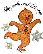 Gingerbread Baby Transfers