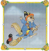 Happy Halloween Cross stitch