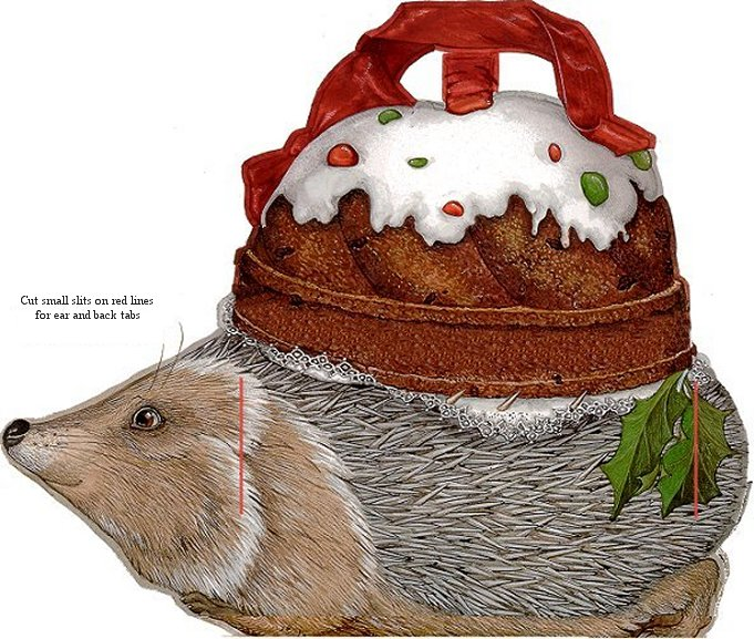 Hedgie's Basket left side
