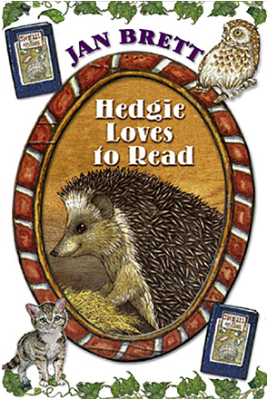 Hedgie Loves to Read Cover