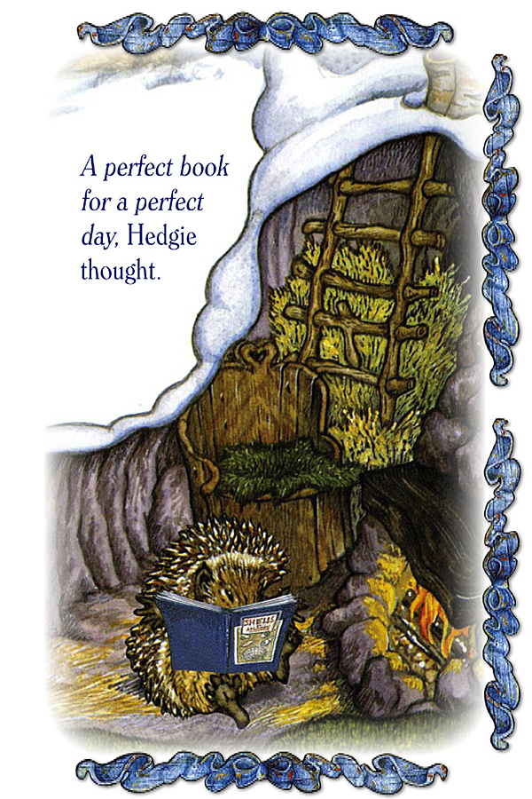 Hedgie Loves to Read Page 6