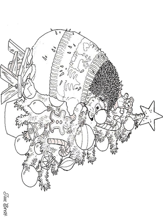 December coloring art for December coloring pages