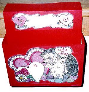 Mailbox. Valentine Mailbox