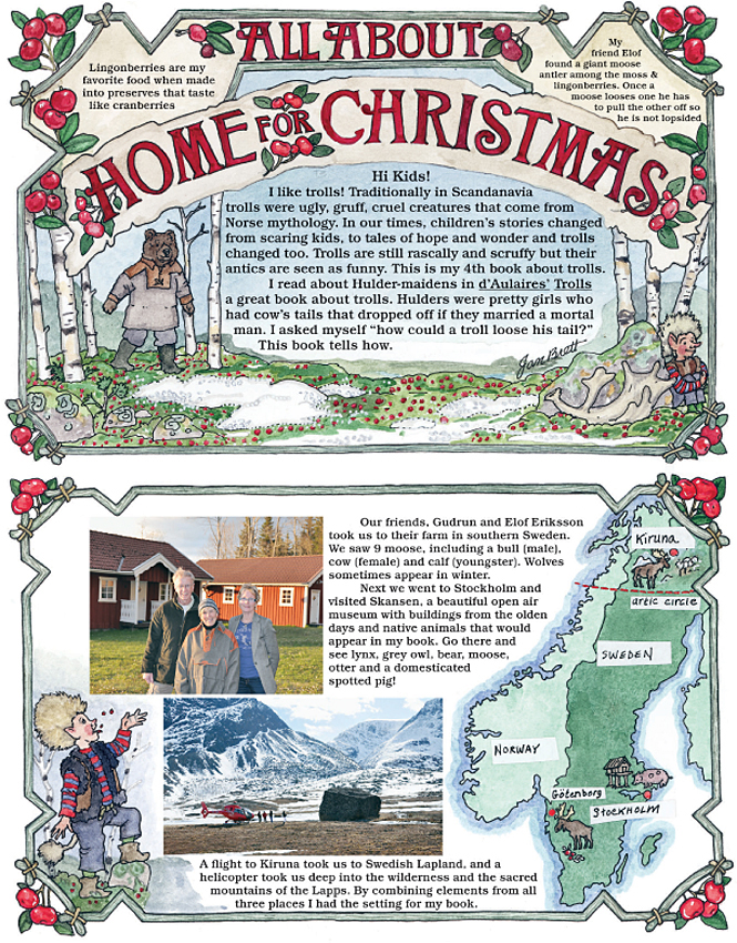 Home for Christmas Newsnotes Page 1