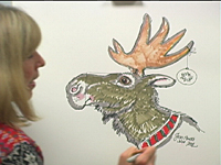 How to Draw a Moose 4