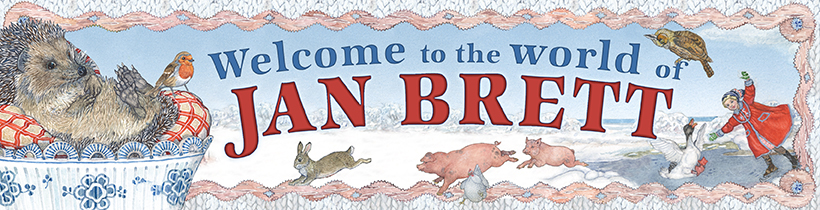 Author Jan Brett S Free Coloring Video And Activity Pages