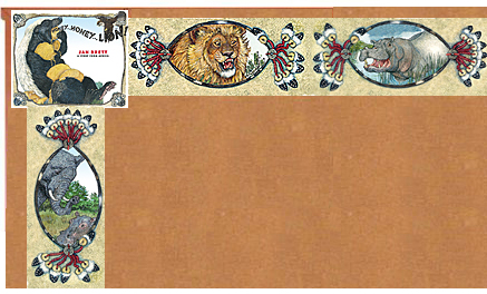 Honey...Honey...Lion! Bulletin Board Border
