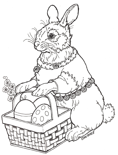 Hoppi Coloring Page