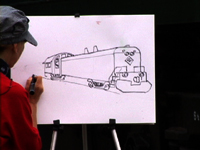 How to Draw a Train 3
