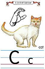 Manual Sign Letter C