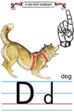 Manual Sign Letter D