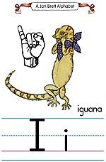 Manual Sign Letter I