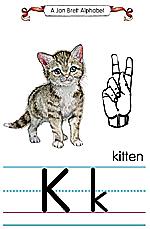 Manual Sign Letter K