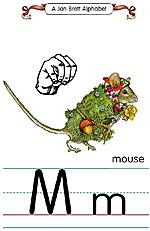 Manual Sign Letter M