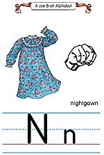 Manual Sign Letter N