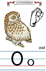 Manual Sign Letter O