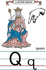 Manual Sign Letter Q