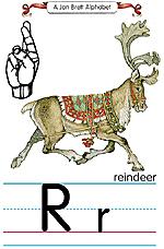 Manual Sign Letter R