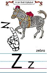 Manual Sign Letter Z