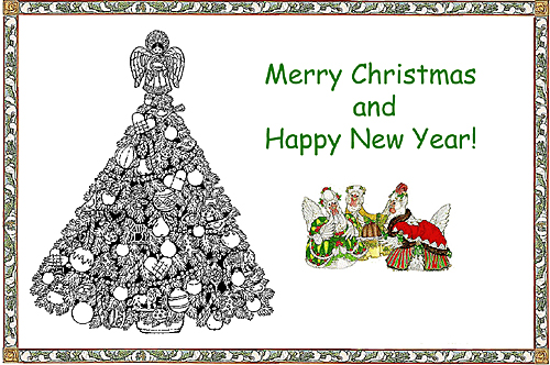 merry christmas coloring place mat - Merry Christmas Coloring Pictures