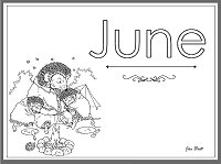 Month Of June Coloring Pages Coloring Pages June Coloring Pages
