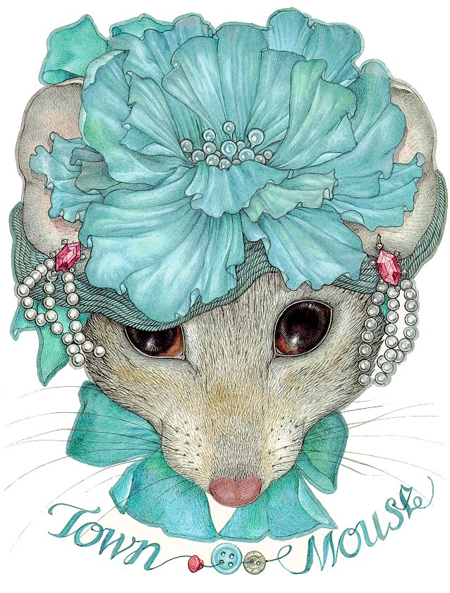 Mrs. Town Mouse