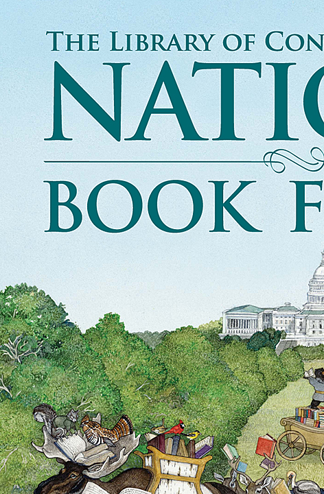 National Book Festival Poster Upper Left