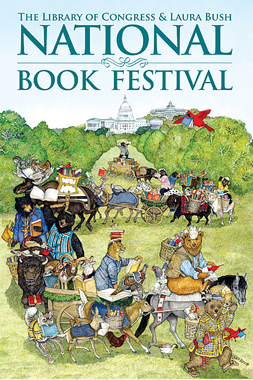 National Book Festival 10 x 6